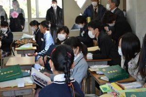 教室での様子1